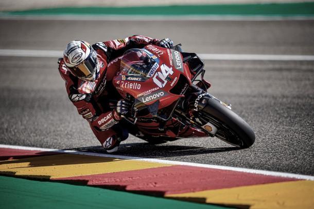 Andrea Dovizioso / Fuente: Ducati.com