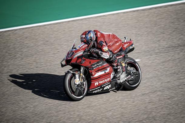 Danilo Petrucci / Fuente: Ducati.com