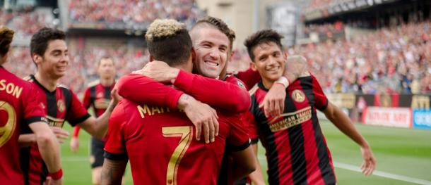 A big first home win was the order of the day for Atlanta | Source: atlutd.com
