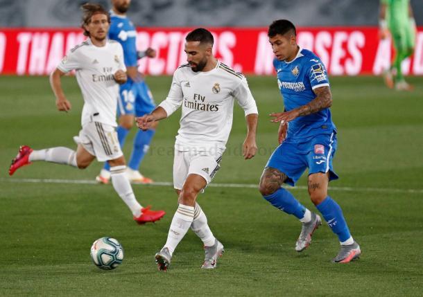 Carvajal y Olivera. Fuente: Real Madrid