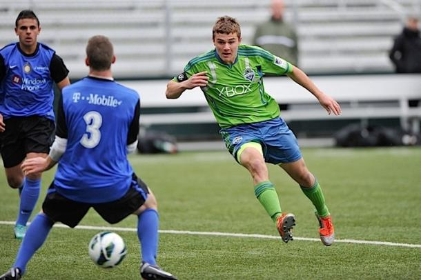 U.S. international Jordan Morris will be under the CONCACAF Champions League spotlight for the first time in his young career. Photo provided by USA TODAY Sports.