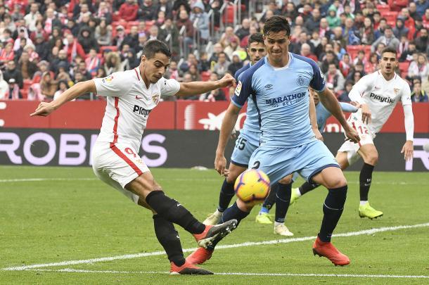 Ben Yedder intentó marcar, pero no pudo ser  Foto: Ssvilla FC