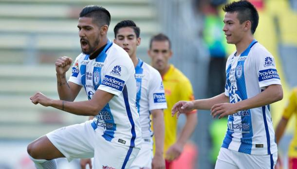 Pachuca y Morelia empatan en la cancha del estadio Hidalgo