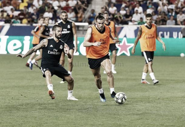 Último entrenamiento de los de Lopetegui   Foto: Real Madrid C.F.