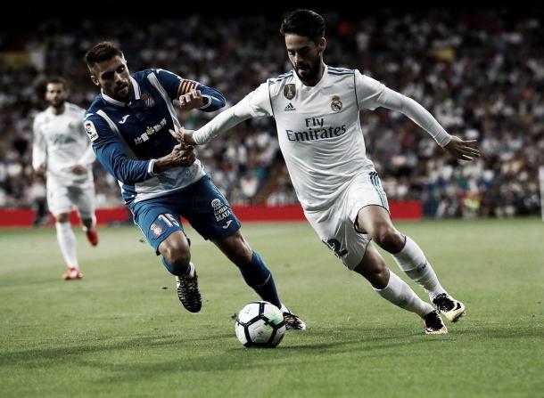Isco viene de convertir un doblete ante el Espanyol | Foto: Real Madrid CF