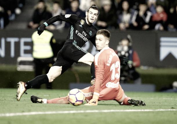 Gareth Bale, la única gran noticia de Balaídos | Foto: Real Madrid CF