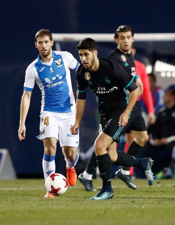 Marco Asensio. Fuente: realmadrid.com