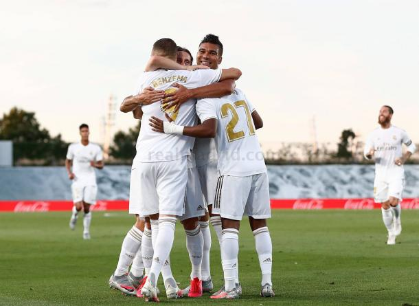 El Real Madrid ganó 10 de los 11 partidos jugados después del parón | Foto: Real Madrid