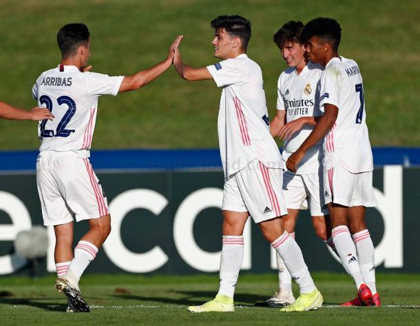 Sergio Arribas, Miguel Gutiérrez, Carlos Dotor y Marvin Park formarán parte del Real Madrid Castilla de cara a la temporada 2020/21 | Fuente: www.realmadrid.com