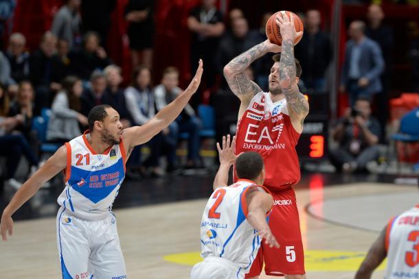 Micov Vladimir EA7 Emporio Armani Milano - Red October Cantu LegaBasket Serie 2017/2018  Playoff Quarti di finale Milano 14/05/2018 Foto Ciamillo-Castoria