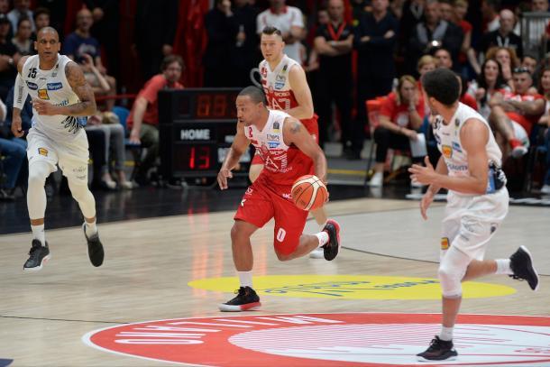 Goudelock Andrew EA7 Olimpia Milano - Dolomiti Energia Trentino Semifinali PlayOff GAME 01 Legabasket Serie A 2017/18 Milano, 06/05/2018 Foto Ivan Mancini / Ciamillo-Castoria