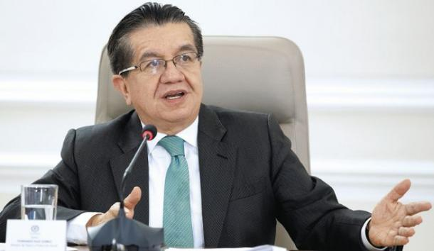 Fernando Ruíz, Ministro de salud. Imagen: César Carrión.