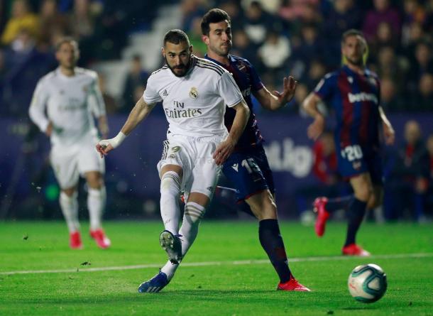 Benzema vs Levante. Real MAdrid