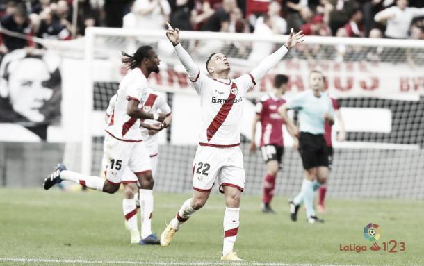 RDT celebrando un gol | Fotografía: LaLiga