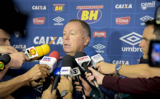 Após o clássico contra o maior rival, Mano enfrentou uma grande pressão. (Foto: Washington Alves/Light Press/Cruzeiro)