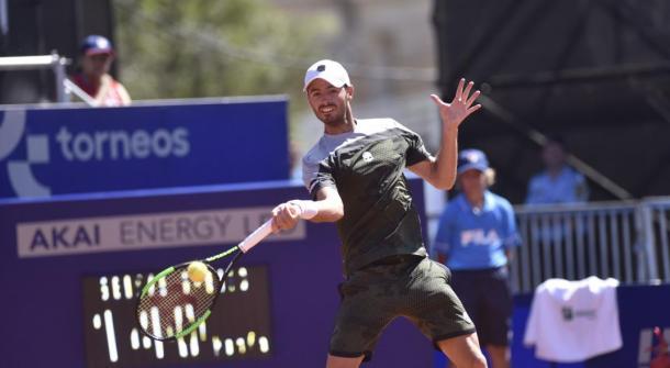 El cordobés y su primera victoria ATP Foto: Mundo la voz