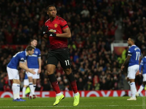 Martial vuelve a la selección francesa   Imagen: Manchester United