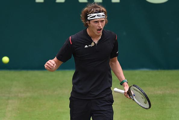 Zverev won the tie-breaker to earn his first set over Federer (Photo: Getty Images/Casper Jaspersen)