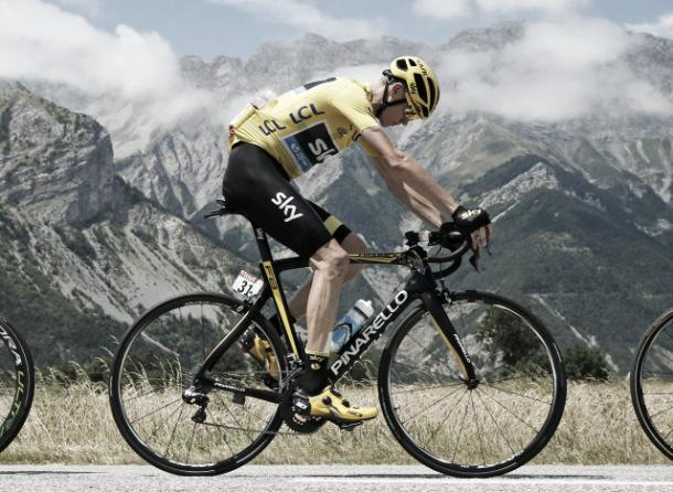 Chris Froome won both the yellow and polka dot jersey in last year's race | Credit: Getty