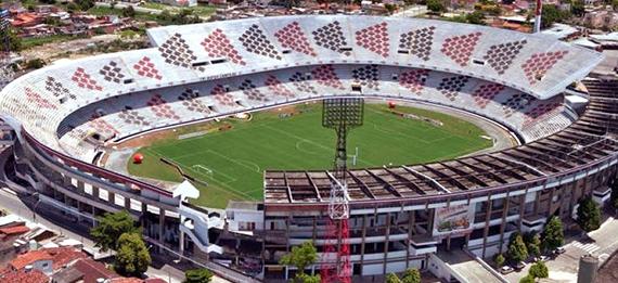 Estádio já viveu grandes glórias do Mais Querido (Foto: Divulgação/Santa Cruz)