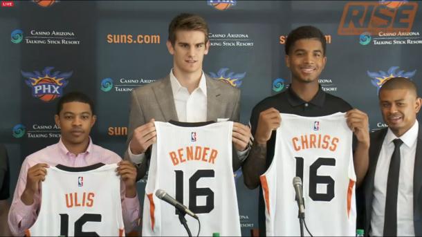 Además de Derrick Jones Jr, Phoenix sumó a tres jóvenes con una gran proyección. Captura: NBA