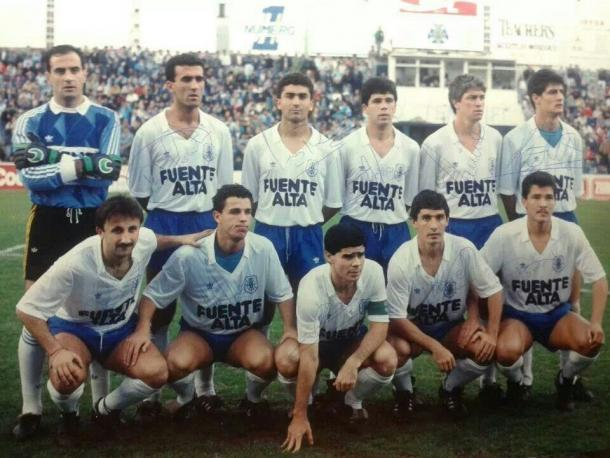 Ascenso a Primera División. Temporada 1988-1989