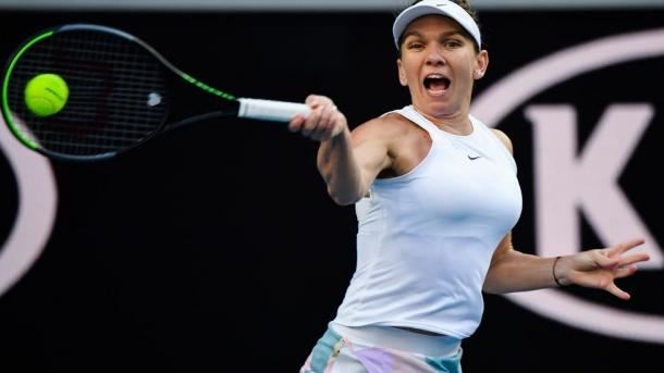 Halep scrapped through difficulty to reach the second round/Photo: AFP