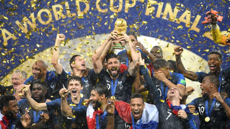 El momento más glorioso de la carrera de Giroud / Foto: FIFA