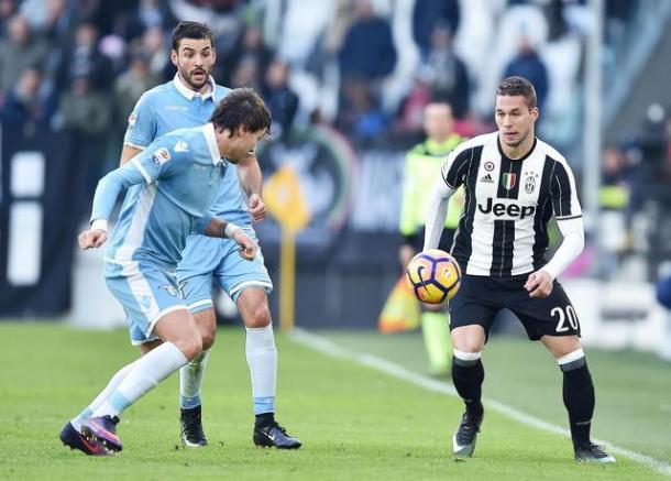Pjaca in azione contro la Lazio. | Fonte immagine: Ansa