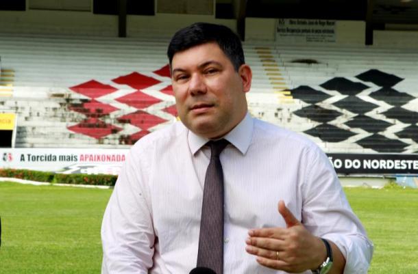 Alírio Moraes cometeu erros de gestão anterior. (Foto: Antônio Melcop/Santa Cruz)