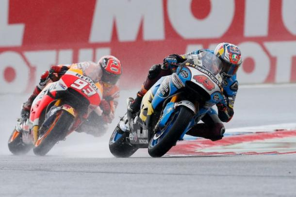 Miller overtook Marquez to claim first MotoGP victory - www.yahoo.com