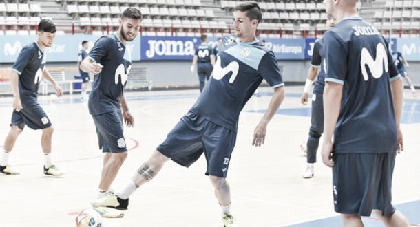 Los jugadores de Inter en un entrenamiento | Foto: LNFS