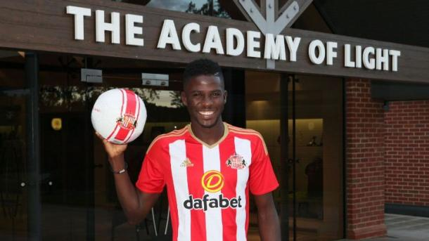 Papy Djilbodji was the first signing under David Moyes. | Photo: ESPN