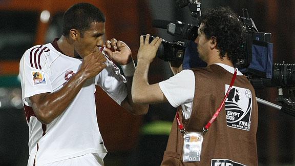 José Salomón Rondón ha sido uno de los pocos que se ha consolidado con la absoluta / Foto Archivo
