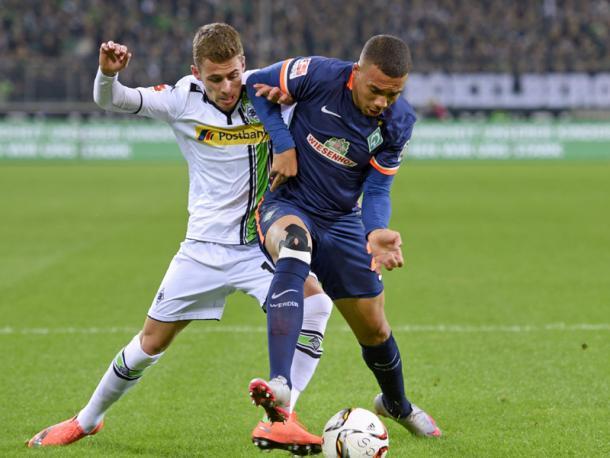 Guwara has made just one Bundesliga apperance so far. | Photo: Kicker/Imago