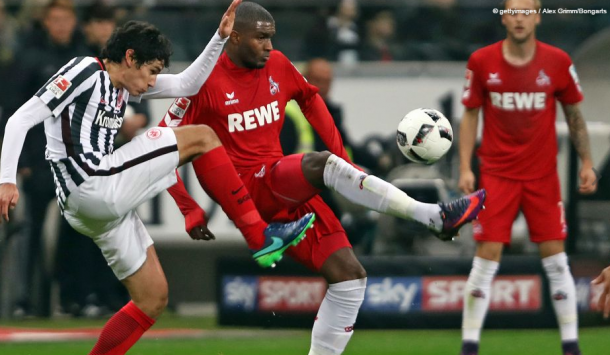 Modeste contra el Eintracht | Foto: Getty Images