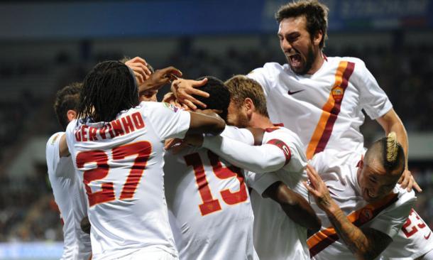 La vittoria della Roma, due stagioni fa al Mapei Stadium. 0-3 firmato Doumbia. Fonte foto: corrieredellosport.it