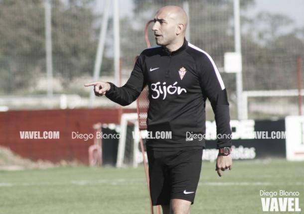 Abelardo es optimista con respecto a las posibilidades de ascenso directo // Imagen: Diego Blanco - VAVEL