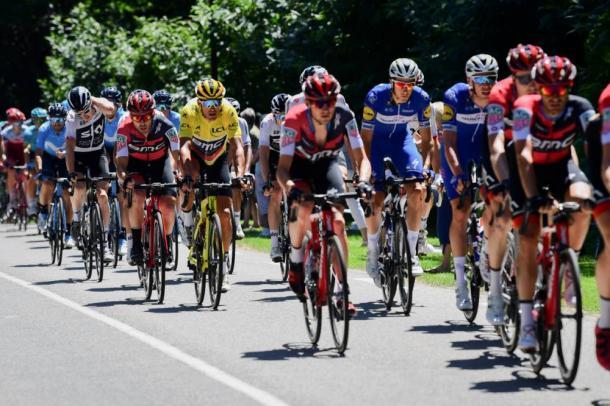 El líder Van Avermaet será uno de los favoritos para la sexta etapa. / Foto: Tour de France