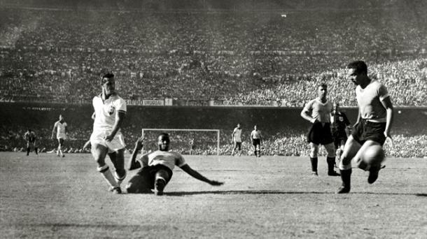 El brasileño Ademir se coronó como pichichi del Mundial  |  Fotografía: Getty Images