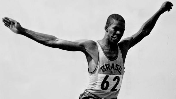 Adhemar nas Olimpíadas de Helsinque/ Foto: Getty Images