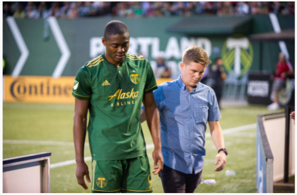 Fanendo Adi hopes to log his first minutes since August. | Image: Diego Diaz