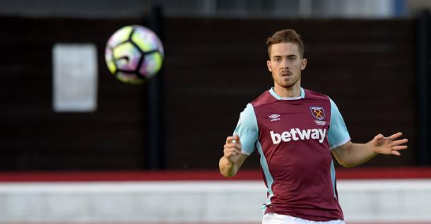 Above: Toni Martinez in action for West Ham's Under-23 side | Photo: whufc.com