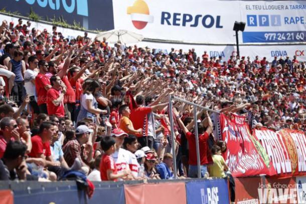El Nàstic ha ilusionado a su afición   Foto: Jordi Echevarria (VAVEL)