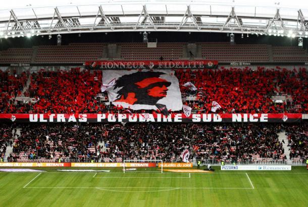 La afición del Niza apoyará al equipo para seguir lideres / Foto: OGC Niza