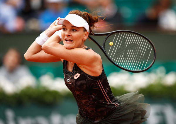 Radwanska managed to win back-to-back matches at the French Open but failed to reach the second week again (Photo by Adam Pretty / Getty)