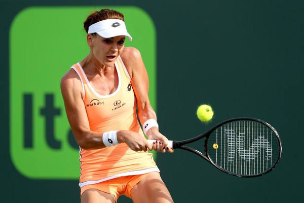 Radwanska will need to bring her ninja skills on the court in order to beat Lucic-Baroni (Photo by Matthew Stockman / Getty Images)