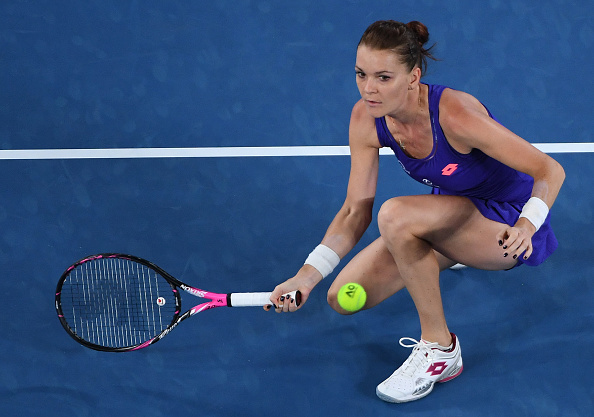 Radwanska's mix-up of play caused problems for Pironkova (Photo by William West / Getty Images)