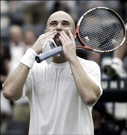 Andre Agassi's last grand slam win was the 2003 U.S. Open. (Photo: Associate Press Images)