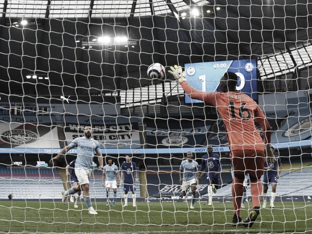 El error de Aguero le costó el triunfo al City / Foto: Premier League
